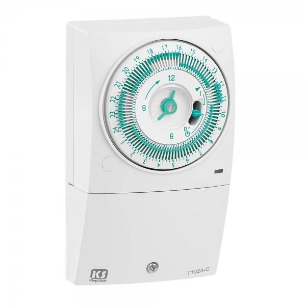 greenbrook timer 24 hour mechanical immersion heater 16a. Black Bedroom Furniture Sets. Home Design Ideas
