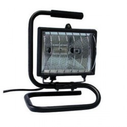KingShield Floodlight Portable Black 230V 400W