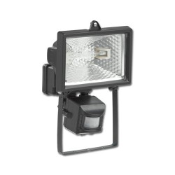 KingShield 120W PIR Floodlight Black