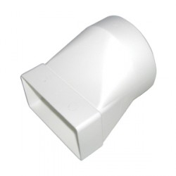 KingShield 100mm Round to Rectangular Adaptor