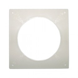 KingShield 100mm Round Wall Plate