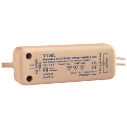 Varilight Low Voltage Dimmable Low Load 0-50W Transformer