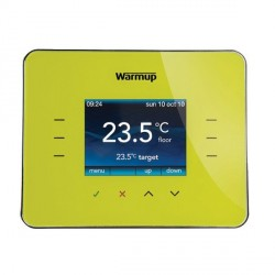 Warmup 3iE Programmable Thermostat in Leaf Green