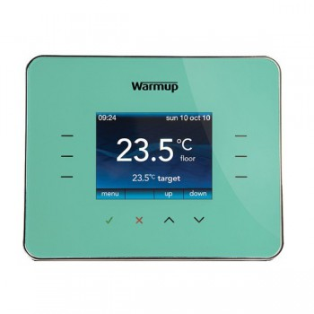 Warmup 3iE Programmable Thermostat in Madison Blue