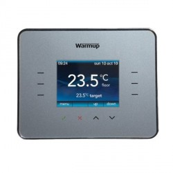 Warmup 3iESG Thermostat in Silver Grey