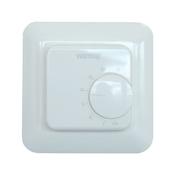 Warmup Manual Thermostat White At Uk Electrical Supplies