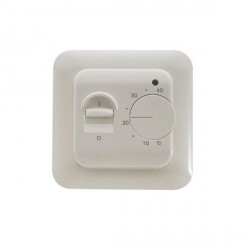 Warmup Manual Thermostat - White