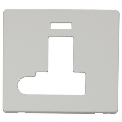 Click Definity SCP152PW Fused Connection Unit with Switch, Flex Outlet and Neon Cover Plate in Polar White