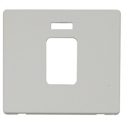 Click Definity SCP201PW 45A 1 Gang Switch with Neon Cover Plate in Polar White