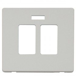 Click Definity SCP324PW Sink and Bath Switch with Neon Cover Plate in Polar White