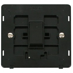 Click Definity SIN011BK 10AX 1 Gang 2 Way Switch Insert in Black