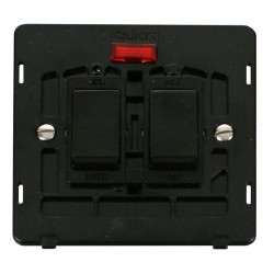 Click Definity SIN024BK 20A Sink and Bath Switch with Neon Insert in Black
