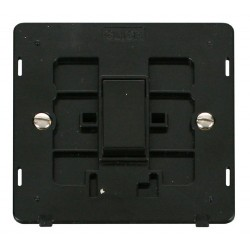 Click Definity SIN025BK 10AX 1 Gang Intermediate Switch Insert in Black