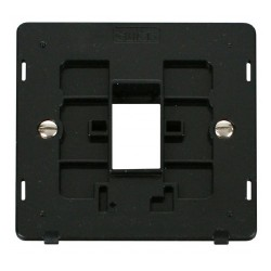 Click Definity SIN401BK Single Plate Single Aperture Insert in Black
