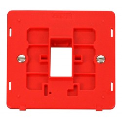 Click Definity SIN401RD Single Plate Single Aperture Insert in Red
