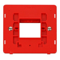 Click Definity SIN402RD Single Plate Twin Aperture Insert in Red