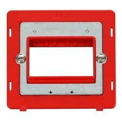 Click Definity SIN403RD Single Plate Triple Aperture Insert in Red