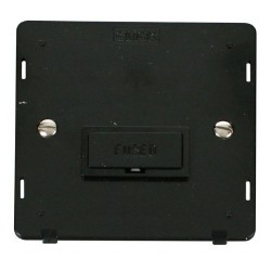 Click Definity SIN650BK 13A Fused FCU Insert in Black