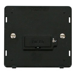 Click Definity SIN850BK Lockable 13A Fused Connection Unit Insert in Black