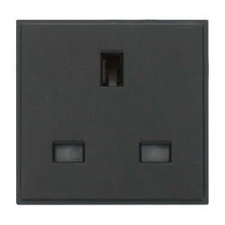 Click New Media MM010BK 13A UK Socket Outlet in Black