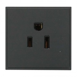 Click New Media MM030BK 15A 125V US Socket Outlet in Black