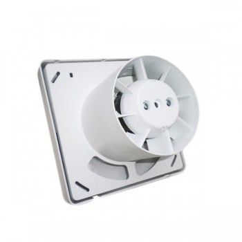 Manrose Quiet Fan 100mm Extractor Fan with Pullcord Switch
