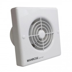 Manrose Quiet Fan 100mm Extractor Fan with Timer