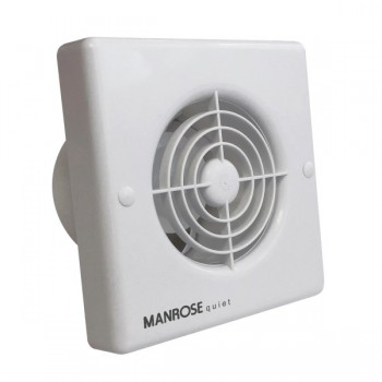 Manrose Quiet Fan 100mm Extractor Fan with Humidity Control
