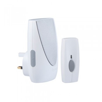 Byron BY202 Wirefree Plug-in Door Chime Kit