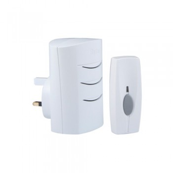 Byron BY102 Wirefree Plug-in Self Learning Door Chime Kit