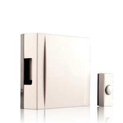 Byron 720 Wired wall mounted doorchime kit white