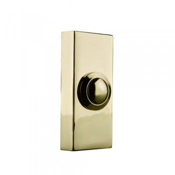 Byron 2204 Wired brass bell push