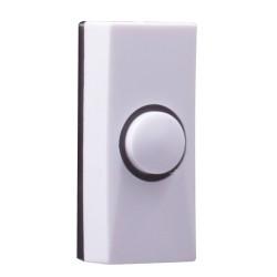 Byron 7910 Plastic Bell Push White