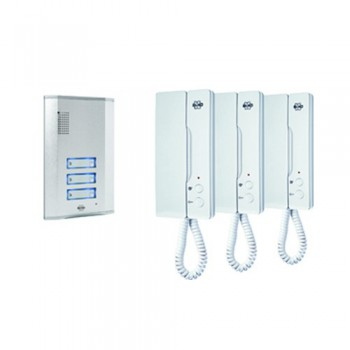 Byron IB63 Door Intercom Three Pack Set