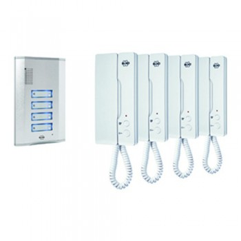 Byron IB64 Door Intercom Four Pack Set