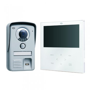Byron VD71F Touch Video Door Intercom with Fingerprint Scanner