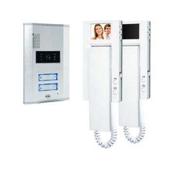 Byron VD62 Video Door Intercom twin pack