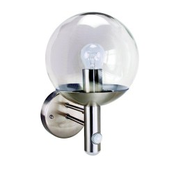 Byron RVS46LA Stainless Steel Security Light with Motion Detection