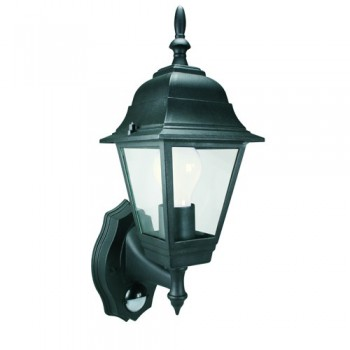 Byron ES94 Security Light with Motion Detector Black
