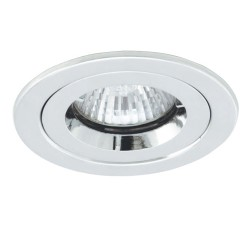 Ansell iCage 50W Fixed GU10/MR16 Chrome Die-Cast Downlight