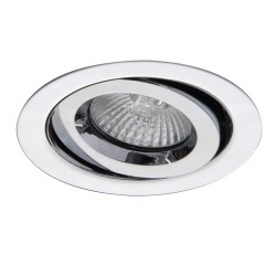 Ansell iCage 50W Gimbal GU10/MR16 Chrome Die-Cast Downlight