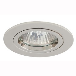 Ansell Twistlock 50W Fixed GU10 Chrome Die-Cast Downlight