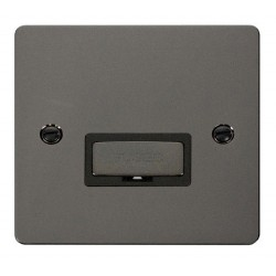 Click Define Black Nickel Flat Plate Ingot 13A Connection Unit with Black Insert