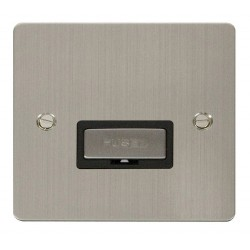 Click Define Stainless Steel Flat Plate Ingot 13A Connection Unit with Black Insert