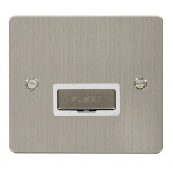 Click Define Stainless Steel Flat Plate Ingot 13A Connection Unit with White Insert