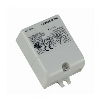 Ansell Constant Current Non-Dimmable 3W 350mA LED Driver
