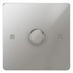 Focus SB Ambassador APC21.1 1 gang 2 way 250W (mains and low voltage) dimmer in Polished Chrome