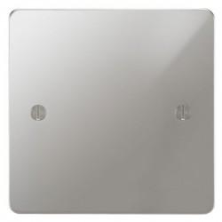 Focus SB Ambassador APC37.1 single blank plate in Polished Chrome