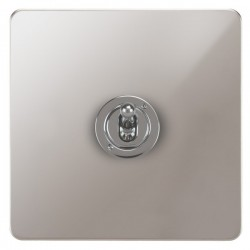Focus SB Ambassador APS14.1/3 1 gang 20 amp Intermediate toggle switch in Polished Stainless