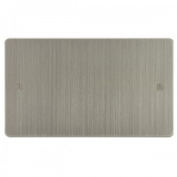 Focus SB Ambassador ASN37.2 double blank plate in Satin Nickel